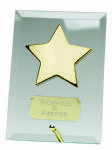 Gold Star on Glass JC002